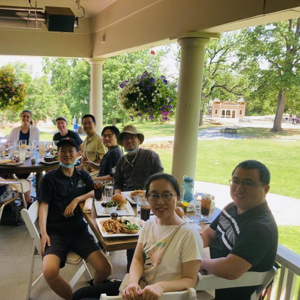 2021.06: Farewell Lunch for Leo at Chautauqua Dinning Hall