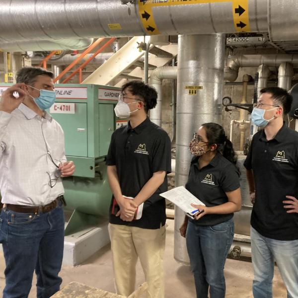 2021.09: CU West Energy Plant site visit