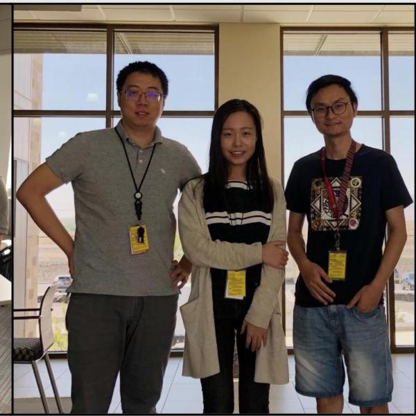 2018.08: Four Ph.D. students had summer internship at PNNL and Mitsubishi