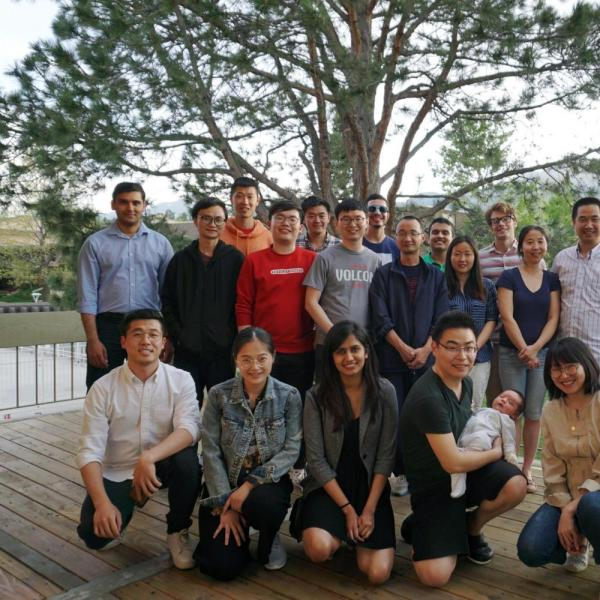 2018.05: Farewell party for graduating lab members
