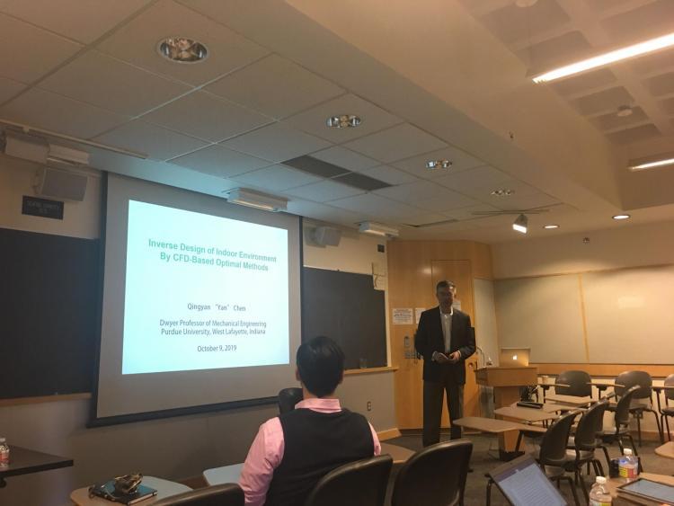Dr. Chen presenting