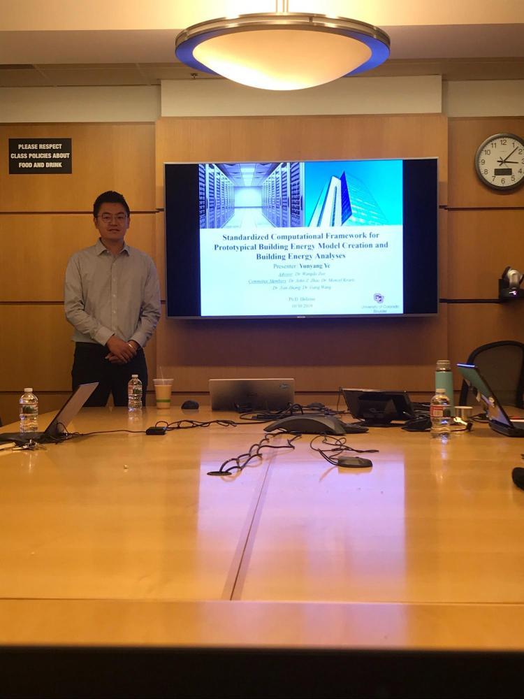 Yunyang presenting