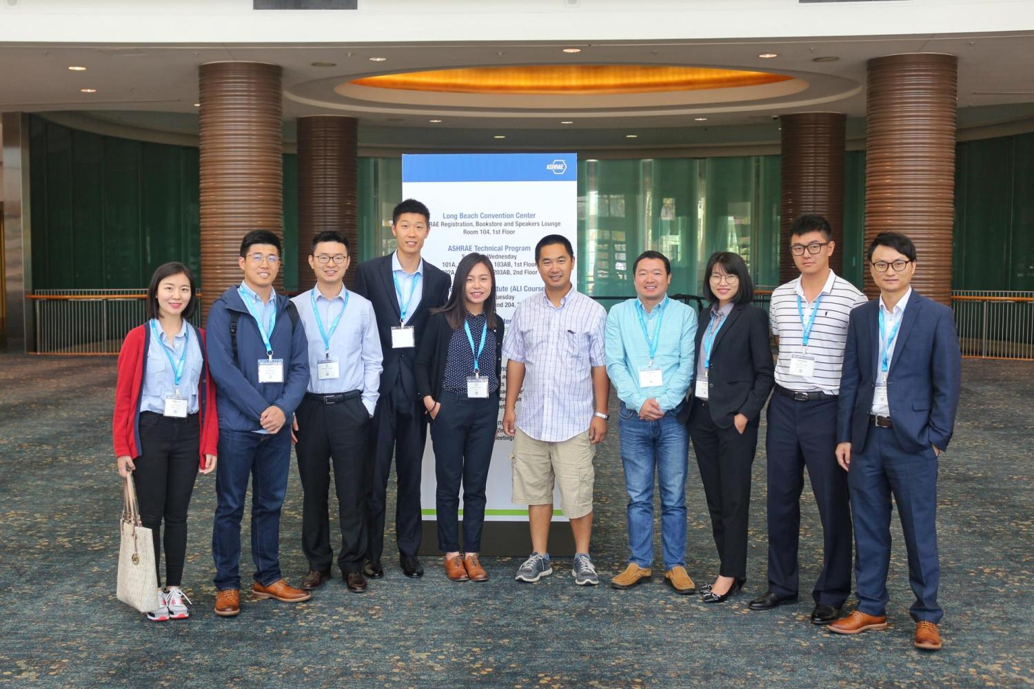 SBS team attended IBPSA-USA and ASHRAE annual conferences in Long Beach