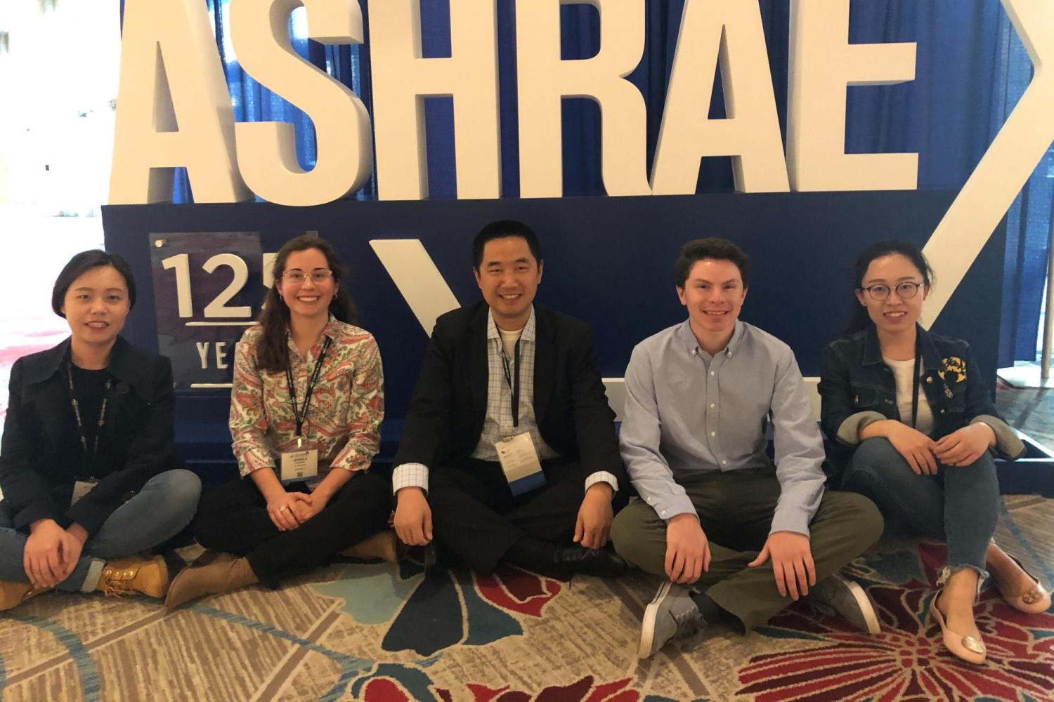 Four Ph.D. students receive scholarships to attend ASHRAE Winter Conference