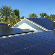 Solar panels in smart, sustainable, and connected communities