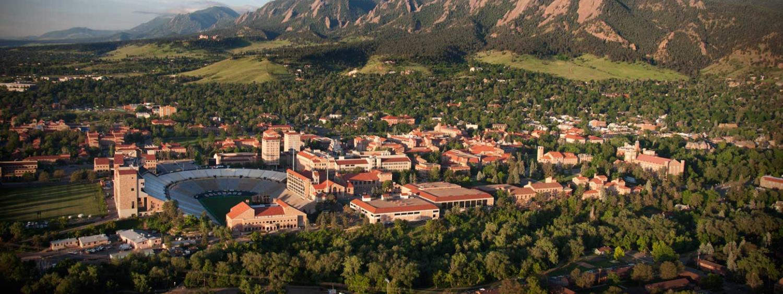 Ariel view of Boulder