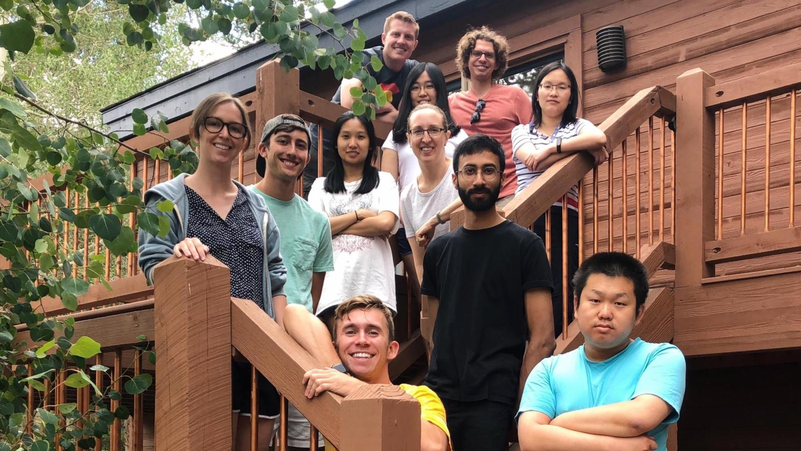 Spencer Lab members on our Lab Retreat to Keystone in August of 2019