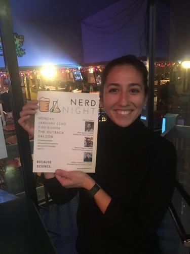 Kathryn at Nerd Nite