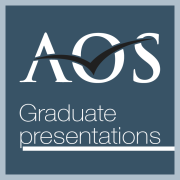 AOS Graduate Presentations