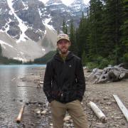 Erik in the mountains