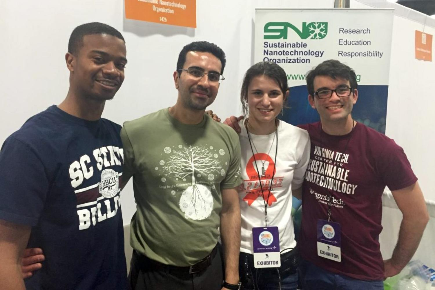 Students at the US Science and Engineering Festival