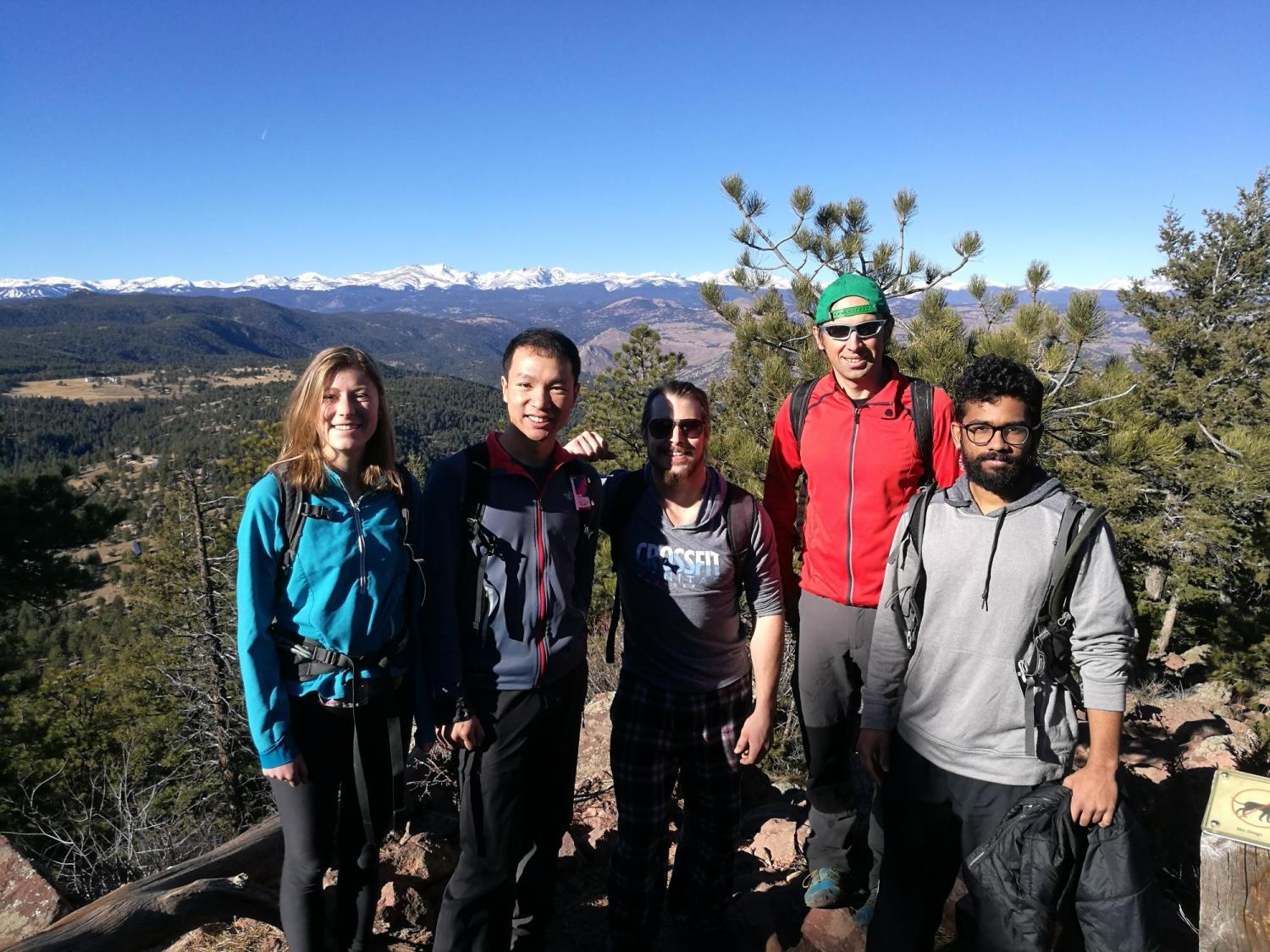 2017-18 Research Group hike