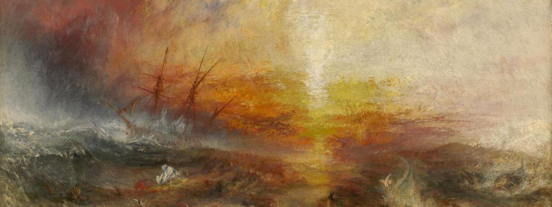 JMW Turner Painting Slave Ship