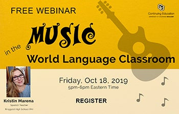Music in the world language classroom