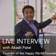 live interview Akash Patel dec 18, 5pm