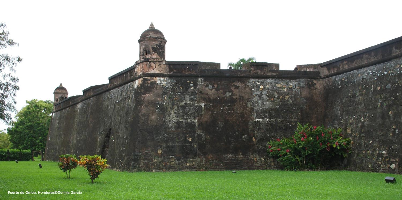 Fuerte de Omoa, Honduras