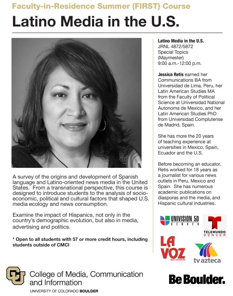 Maymester Course on Latino Media in the U S  | Latin