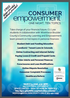 Consumer Empower Event