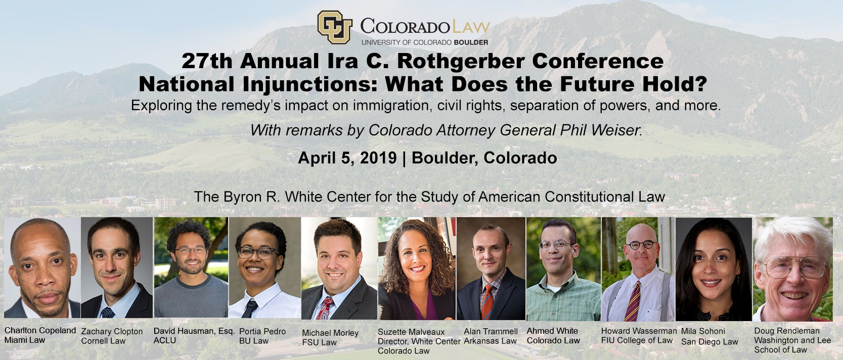 2019 Rothgerber Conference