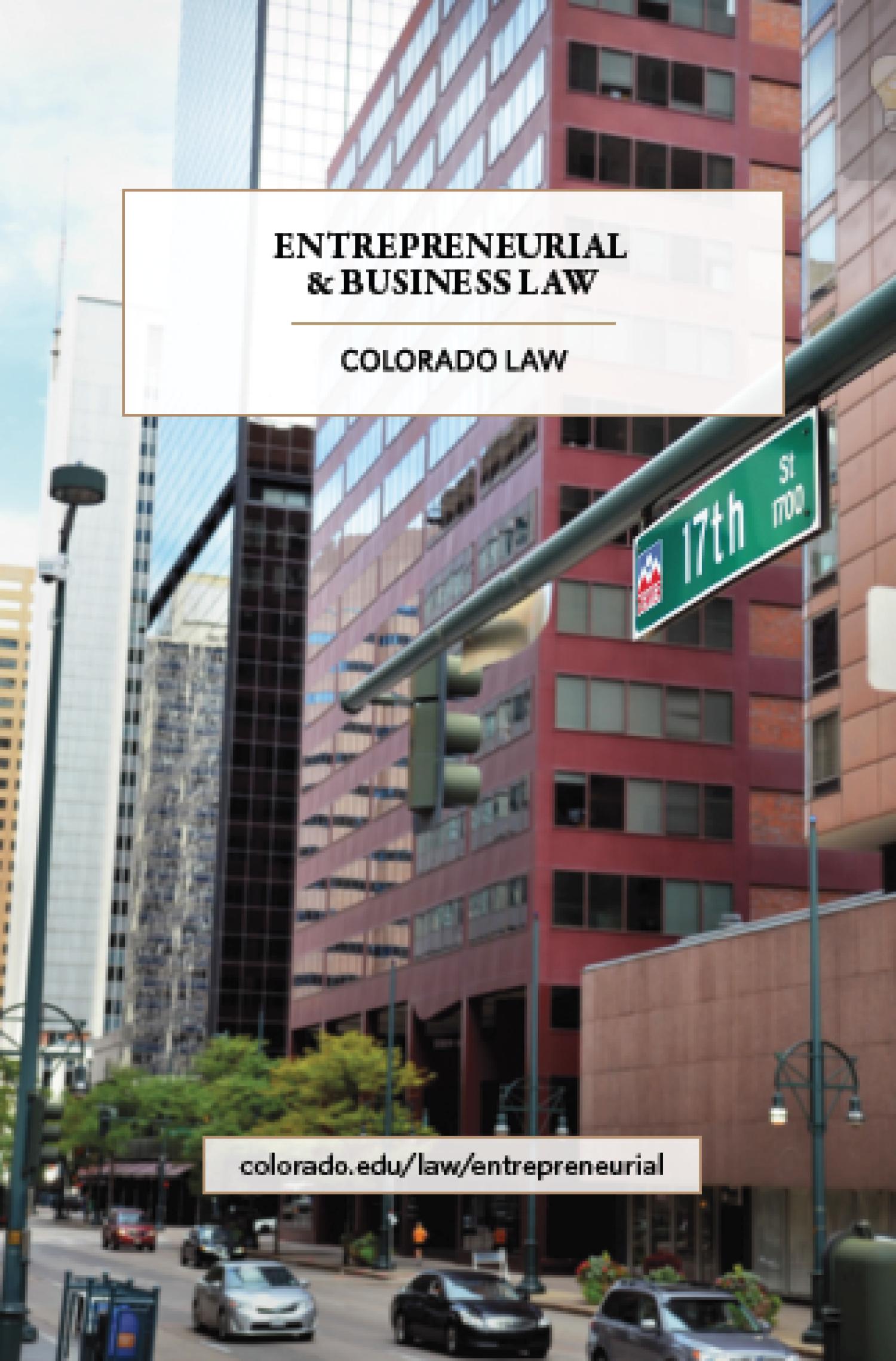 Entrepreneurial & Business Law brochure