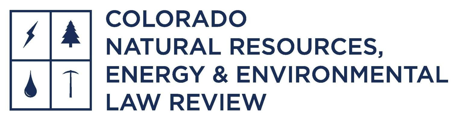 Colorado Natural Resources Energy Environmental Law Review