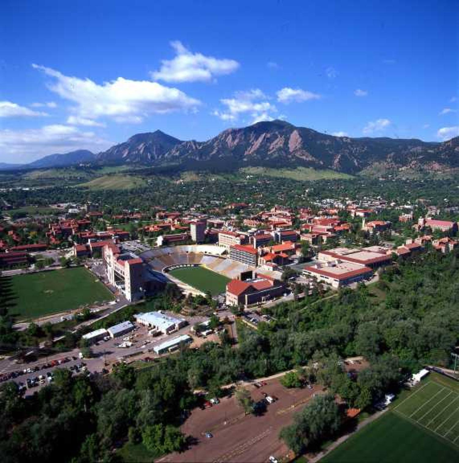 Being A Buff The University Of Colorado Is Consistently Voted One Of The  Most Beautiful Campuses