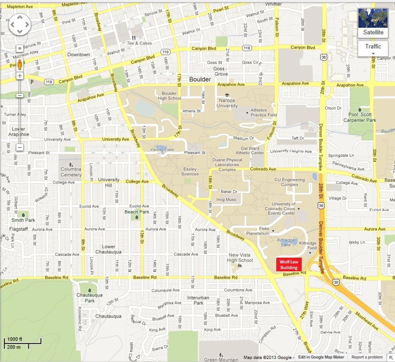 cu boulder campus map pdf