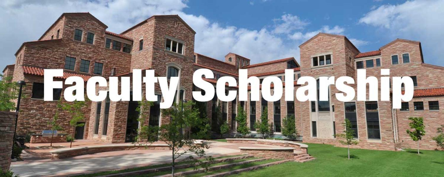 Faculty Scholarship