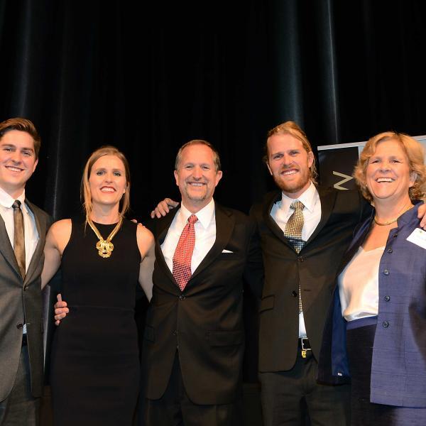 Group at 2015 Alumni award banquet