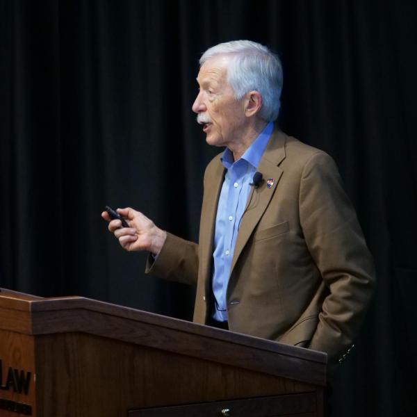 Ethics CLE presentation by David Stark ('73)