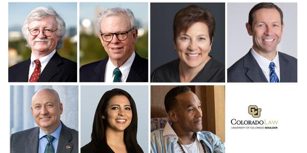 2019 Colorado Law Alumni Award Honorees