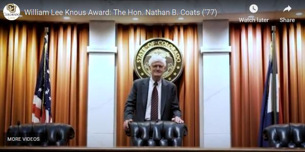 Chief Justice Nathan Coats