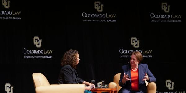 Justice Kagan at Colorado Law