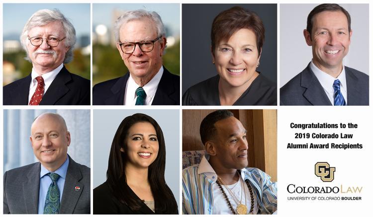2019 Colorado Law Alumni Award Honorees