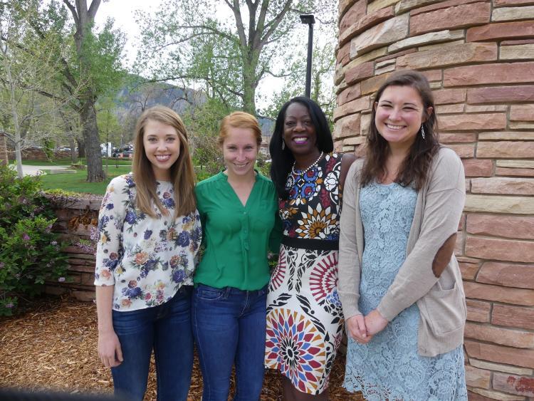 Professor Dayna Bowen Matthew with third-year Health Law students