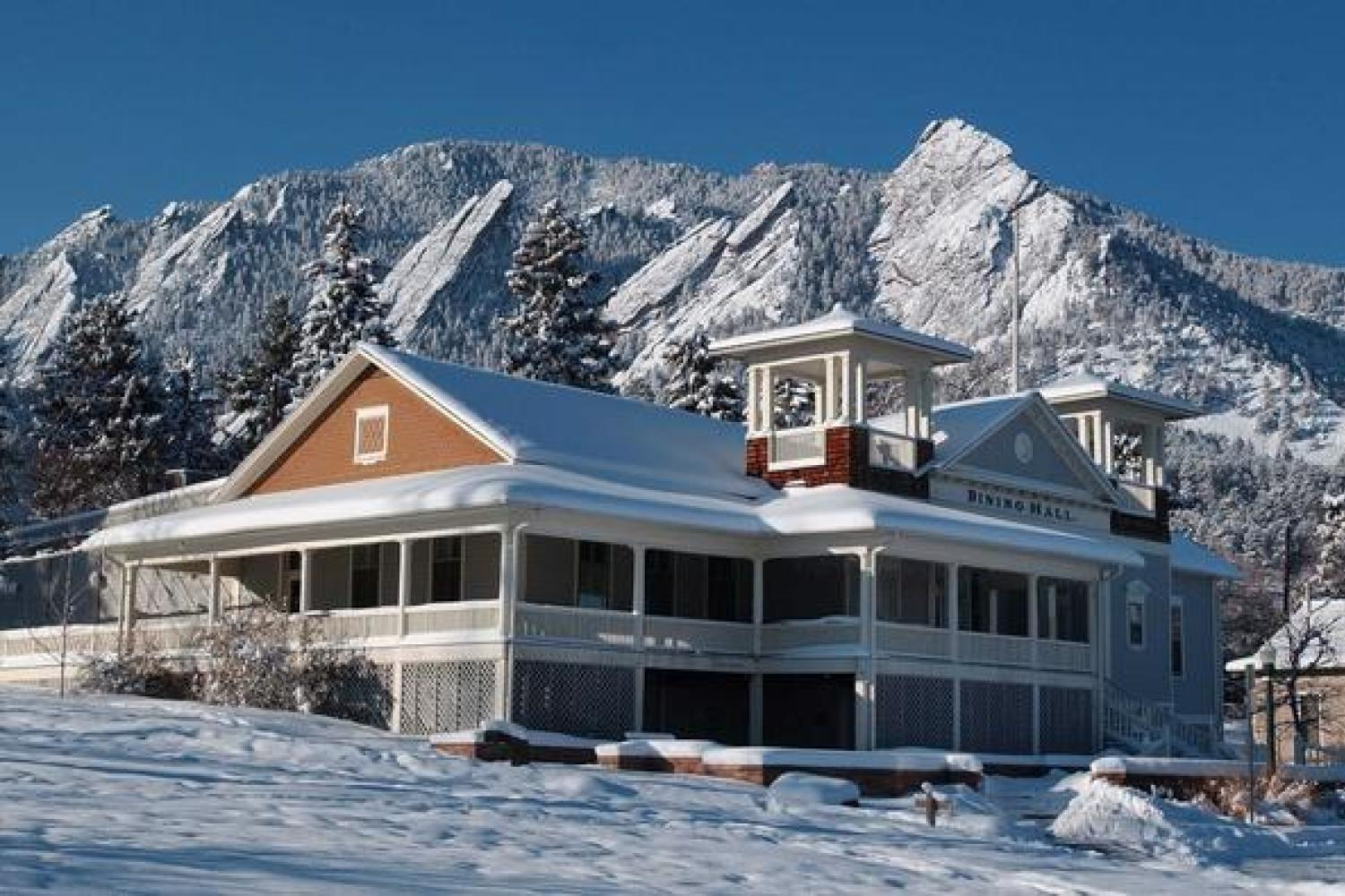 Boulder's Chautauqua is on the National Register of Historic Places