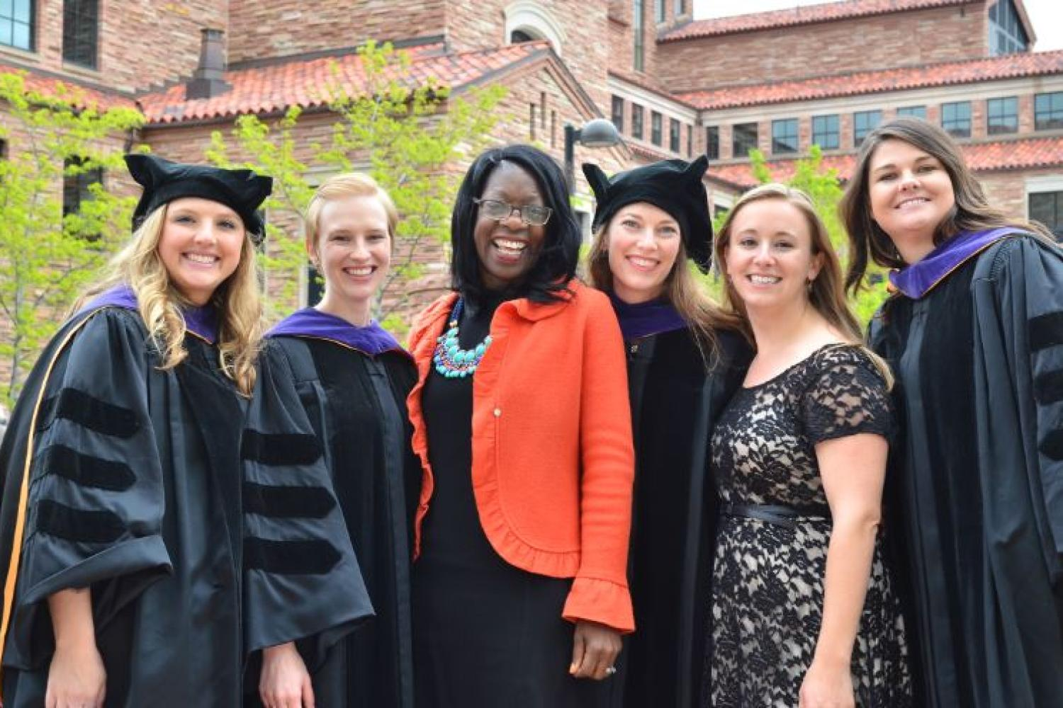 Class of 2015 Health Law Certificates awarded to:Emily Thayer,Amy Ellis, ProfessorDayna Matthew,Eden Rolland,Kathleen Snow, andKatie Ahles [left to right]. (Not pictured Matthew George)