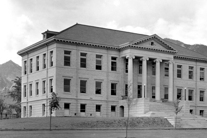 Guggenheim Law Building, 1909–59.