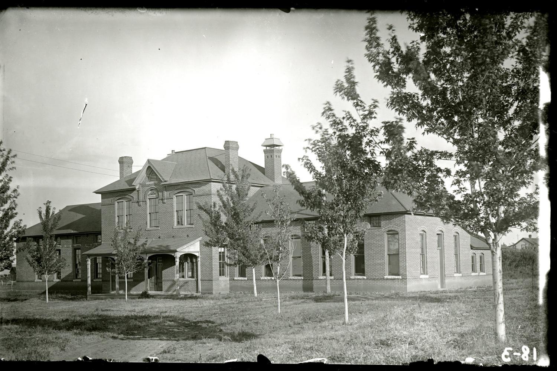 Kent Hall, original location of the law school, 1892–94.