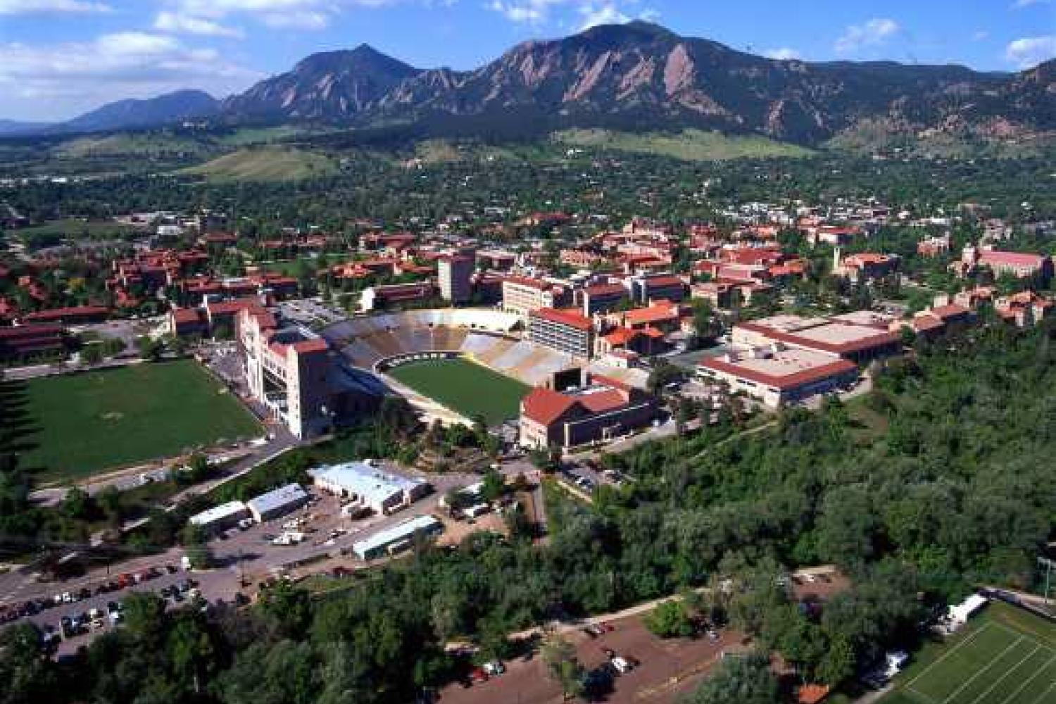 The University of Colorado is consistently voted one of the most beautiful campuses in the nation.