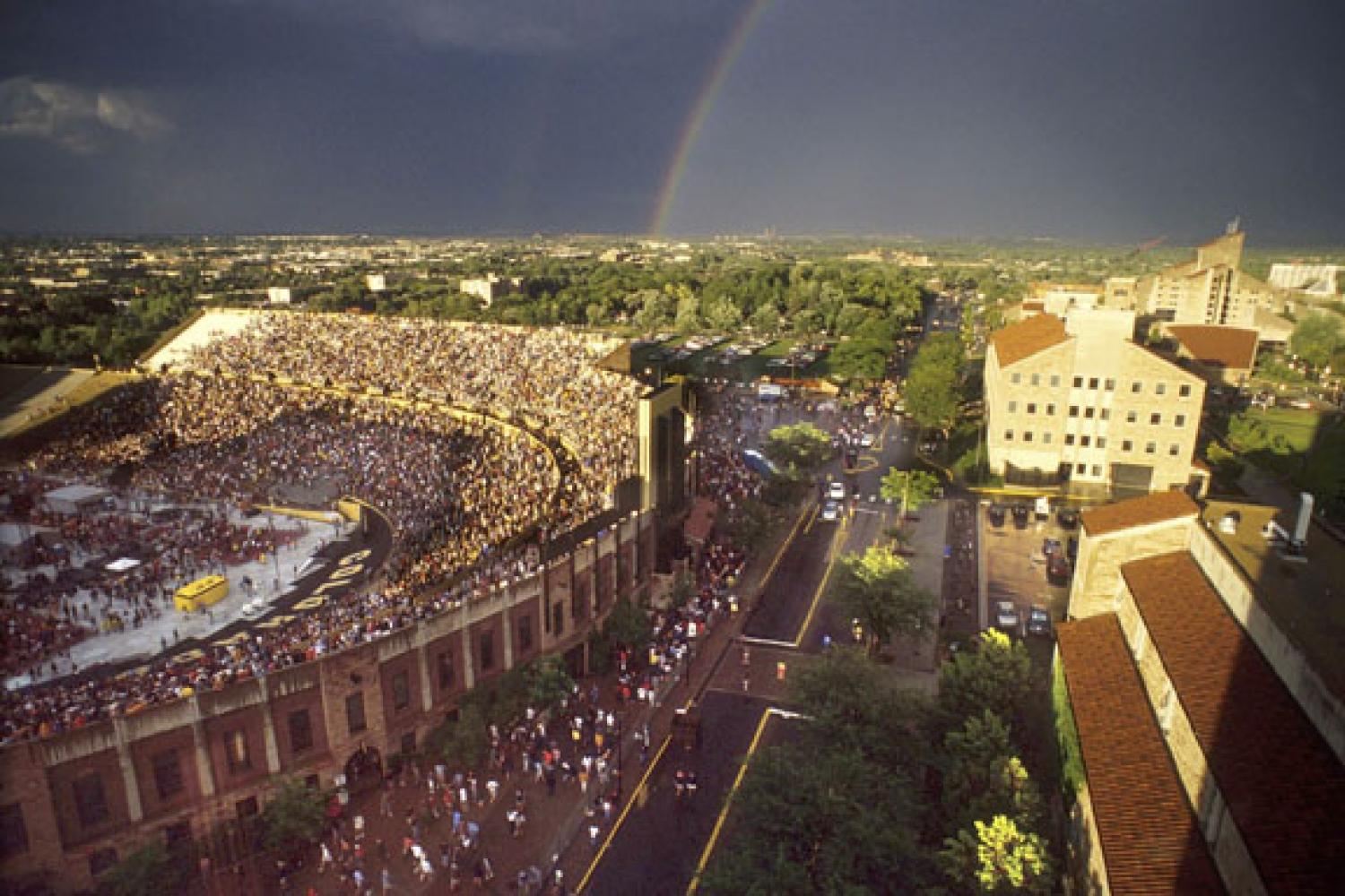 The University of Colorado football team has won both a National Championship (1990) and a Heisman Trophy (1994)