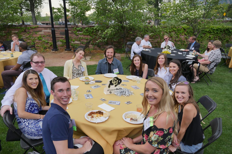 Alumni at a Table