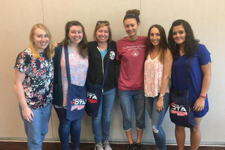 ILPS students volunteering at naturalization workshop (September 2019)