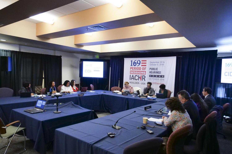 IACHR hearing