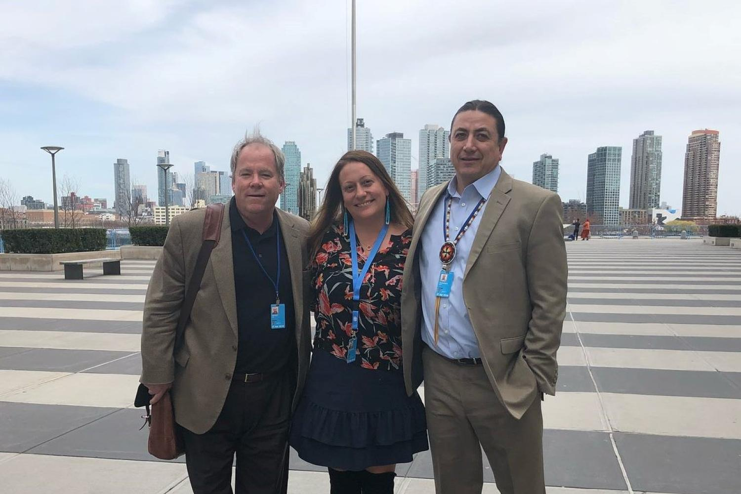 Fredericks Presents on First Peoples Investment Engagement Program at UN