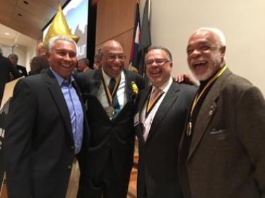 Chuck Williams, Sonny Flowers, Hon. Gary Jackson, and Bill Harris