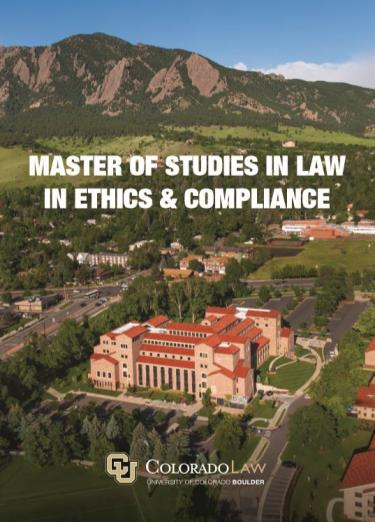 Master of Studies in Law - Ethics & Compliance