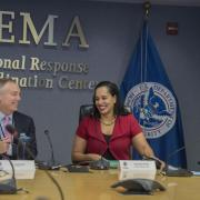 Anna Spain Bradley at FEMA