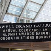 Colorado Law Alumni Awards Banquet