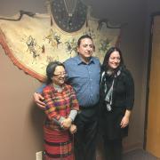 Victoria Tauli-Corpuz, Dave Archambault, and Carla Fredericks